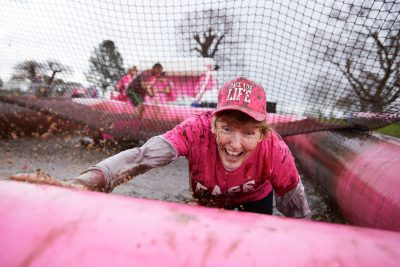 CRUK Pretty Muddy Action