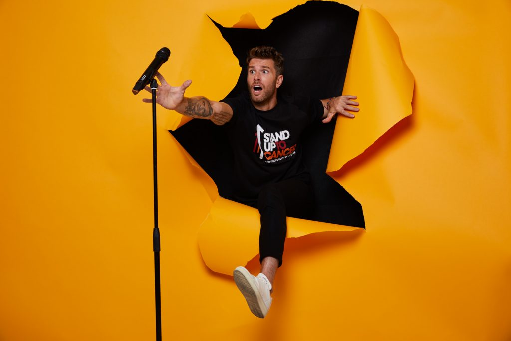 Joel Dommett Stand Up To Cancer